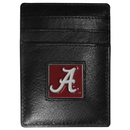 Siskiyou Buckle CCH13 Alabama Crimson Tide Leather Money Clip/Cardholder Packaged in Gift Box