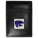 Siskiyou Buckle CCH15BX Kansas St. Wildcats Leather Money Clip/Cardholder
