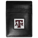 Siskiyou Buckle CCH26 Texas A & M Aggies Leather Money Clip/Cardholder Packaged in Gift Box