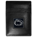 Siskiyou Buckle CCH27 Penn St. Nittany Lions Leather Money Clip/Cardholder Packaged in Gift Box