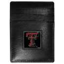 Siskiyou Buckle CCH30 Texas Tech Raiders Leather Money Clip/Cardholder Packaged in Gift Box