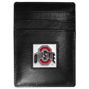 Siskiyou Buckle CCH38 Ohio St. Buckeyes Leather Money Clip/Cardholder Packaged in Gift Box