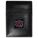 Siskiyou Buckle CCH42 Auburn Tigers Leather Money Clip/Cardholder Packaged in Gift Box