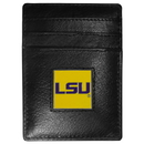 Siskiyou Buckle CCH43 LSU Tigers Leather Money Clip/Cardholder Packaged in Gift Box