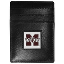 Siskiyou Buckle CCH45 Mississippi St. Bulldogs Leather Money Clip/Cardholder Packaged in Gift Box