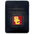 Siskiyou Buckle CCH53BX USC Trojans Leather Money Clip/Cardholder