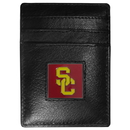 Siskiyou Buckle CCH53 USC Trojans Leather Money Clip/Cardholder Packaged in Gift Box