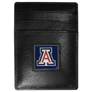Siskiyou Buckle CCH54 Arizona Wildcats Leather Money Clip/Cardholder Packaged in Gift Box