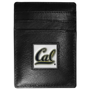 Siskiyou Buckle CCH56 Cal Berkeley Bears Leather Money Clip/Cardholder Packaged in Gift Box