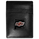 Siskiyou Buckle CCH58 Oklahoma State Cowboys Leather Money Clip/Cardholder Packaged in Gift Box