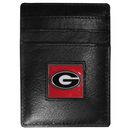Siskiyou Buckle CCH5 Georgia Bulldogs Leather Money Clip/Cardholder Packaged in Gift Box