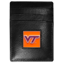 Siskiyou Buckle CCH61 Virginia Tech Hokies Leather Money Clip/Cardholder Packaged in Gift Box