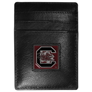 Siskiyou Buckle CCH63 S. Carolina Gamecocks Leather Money Clip/Cardholder Packaged in Gift Box