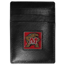 Siskiyou Buckle CCH64 Maryland Terrapins Leather Money Clip/Cardholder Packaged in Gift Box