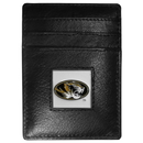Siskiyou Buckle CCH67 Missouri Tigers Leather Money Clip/Cardholder Packaged in Gift Box