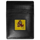 Siskiyou Buckle CCH68 Arizona St. Sun Devils Leather Money Clip/Cardholder Packaged in Gift Box