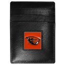 Siskiyou Buckle CCH72BX Oregon St. Beavers Leather Money Clip/Cardholder