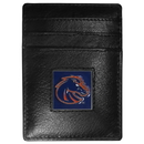 Siskiyou Buckle CCH73BX Boise St. Broncos Leather Money Clip/Cardholder