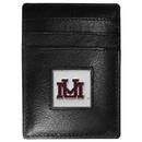 Siskiyou Buckle CCH75 Montana Grizzlies Leather Money Clip/Cardholder Packaged in Gift Box