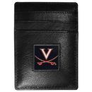 Siskiyou Buckle CCH78 Virginia Cavaliers Leather Money Clip/Cardholder Packaged in Gift Box