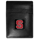 Siskiyou Buckle CCH79 N. Carolina St. Wolfpack Leather Money Clip/Cardholder Packaged in Gift Box