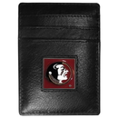 Siskiyou Buckle CCH7 Florida St. Seminoles Leather Money Clip/Cardholder Packaged in Gift Box