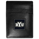 Siskiyou Buckle CCH86 BYU Cougars Leather Money Clip/Cardholder Packaged in Gift Box