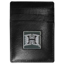 Siskiyou Buckle CCH99 Hawaii Warriors Leather Money Clip/Cardholder Packaged in Gift Box