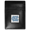 Siskiyou Buckle CCH9 N. Carolina Tar Heels Leather Money Clip/Cardholder Packaged in Gift Box