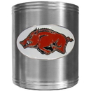 Siskiyou Buckle CCS12 Arkansas Razorbacks Steel Can Cooler