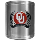 Siskiyou Buckle CCS48F Oklahoma Sooners Steel Can Cooler