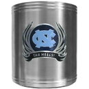 Siskiyou Buckle CCS9F N. Carolina Tar Heels Steel Can Cooler Flame Emblem