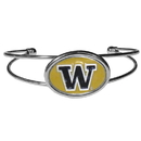 Siskiyou Buckle Washington Huskies Cuff Bracelet, CCUB49