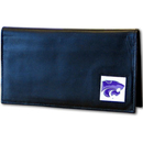 Siskiyou Buckle CDCK15BX Kansas St. Wildcats Deluxe Leather Checkbook Cover