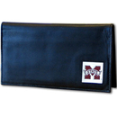 Siskiyou Buckle CDCK45BX Mississippi St. Bulldogs Deluxe Leather Checkbook Cover