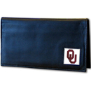 Siskiyou Buckle CDCK48BX Oklahoma Sooners Deluxe Leather Checkbook Cover
