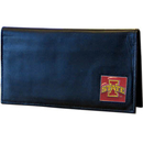 Siskiyou Buckle CDCK83BX Iowa St. Cyclones Deluxe Leather Checkbook Cover