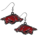 Siskiyou Buckle CDE12N Arkansas Razorbacks Chrome Dangle Earrings