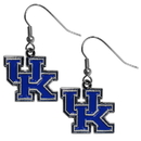 Siskiyou Buckle CDE35N Kentucky Wildcats Chrome Dangle Earrings