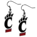 Siskiyou Buckle CDE37 Cincinnati Bearcats Dangle Earrings