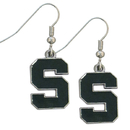Siskiyou Buckle CDE41 Michigan St. Spartans Dangle Earrings