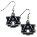 Siskiyou Buckle CDE42N Auburn Tigers Chrome Dangle Earrings