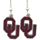 Siskiyou Buckle CDE48 Oklahoma Sooners Dangle Earrings