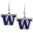 Siskiyou Buckle CDE49 Washington Huskies Dangle Earrings