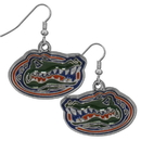 Siskiyou Buckle CDE4N Florida Gators Chrome Dangle Earrings
