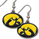 Siskiyou Buckle CDE52 Iowa Hawkeyes Dangle Earrings