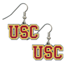 Siskiyou Buckle CDE53 USC Trojans Dangle Earrings
