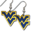Siskiyou Buckle CDE60 W. Virginia Mountaineers Dangle Earrings