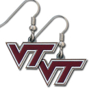 Siskiyou Buckle CDE61 Virginia Tech Hokies Dangle Earrings