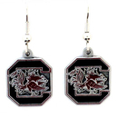 Siskiyou Buckle CDE63 S. Carolina Gamecocks Dangle Earrings